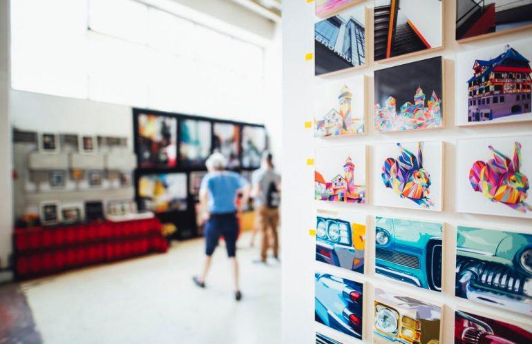 La création d'un showroom d'entreprise